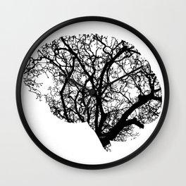 Brain Tree Wall Clock