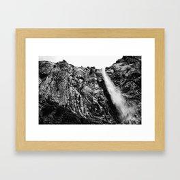 Yosemite Falling Framed Art Print