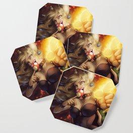 Bowsette Coaster