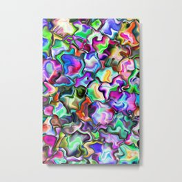 unusual abstract art design background Metal Print
