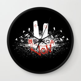 We Lived Wall Clock
