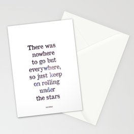 Jack Kerouac Quote Stationery Cards