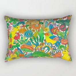Tiny world Rectangular Pillow