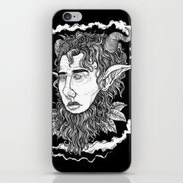 Head of the Faun iPhone Skin