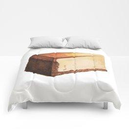Cheesecake Slice Comforters