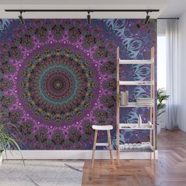 colorful fractal kaleidoscope Wall Mural