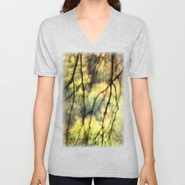Weeping trees Unisex V-Neck
