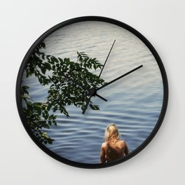 One, Two, Three Wall Clock