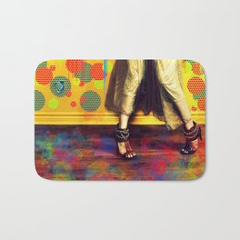 Painting Yourself in a Corner Bath Mat