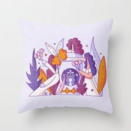 Starbucks Brides Throw Pillow