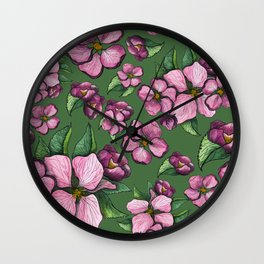 Blossom spring Wall Clock