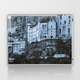Medieval castle in the pilgrimage town of Rocamadour Laptop & iPad Skin