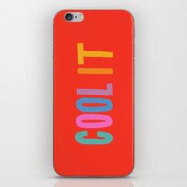 Cool It iPhone Skin