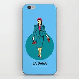 La Dama Mexican Loteria iPhone Skin