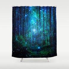 magical path Shower Curtain
