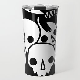 Your Soul  In the hand of Black cat Travel Mug