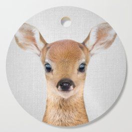 Baby Deer - Colorful Cutting Board
