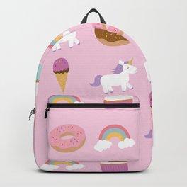 Unicorn Pattern Backpack