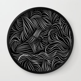 crazy lines Wall Clock