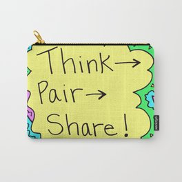 Think, Pair, Share! Carry-All Pouch