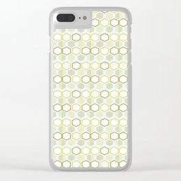 Pattern rhombus losange Clear iPhone Case