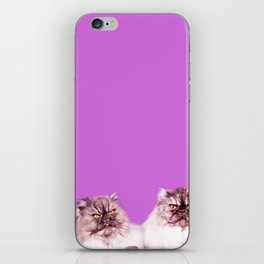 """""""What are you looking at?"""" iPhone Skin"""