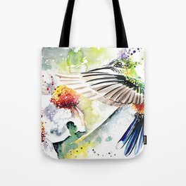 Hummingbird 3 Tote Bag