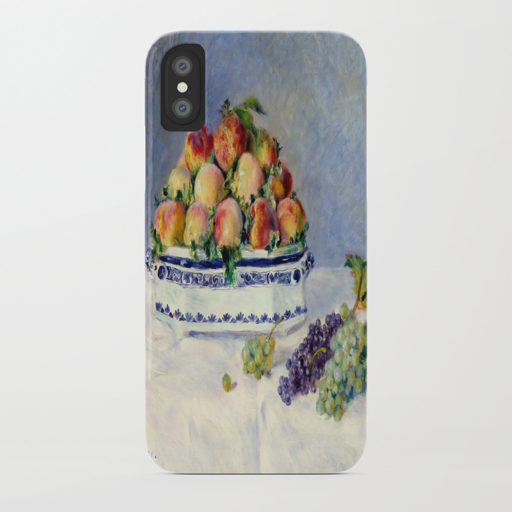 "Auguste Renoir """"still Life With Peaches And Grapes… Phone Case by Alexandra_arts"" PCS9097175"