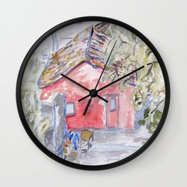 Colonia del Sacremento Wall Clock