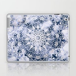 MANDALA WONDERLAND IN BLUE Laptop & iPad Skin