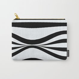 Stripe Bend Carry-All Pouch