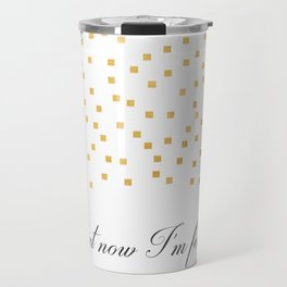 But Now Im Found - Amazing Grace Travel Mug