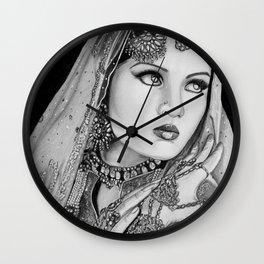 Celena jaitley Wall Clock