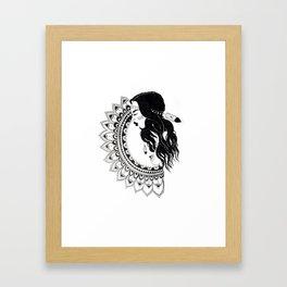 Gypsy Mandala  Framed Art Print