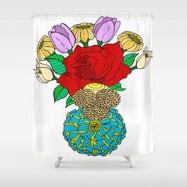 Center of the World Shower Curtain