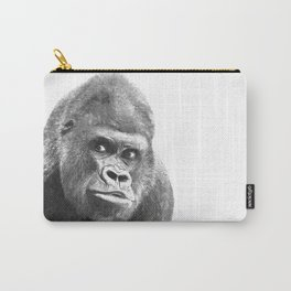 Black and White Gorilla Carry-All Pouch