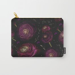Floral Lanterns in the Night Carry-All Pouch