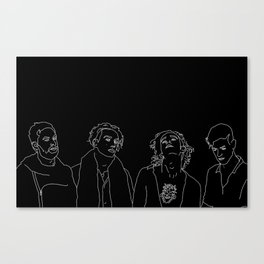 MATTY // ROSS // GEORGE // ADAM Canvas Print
