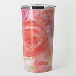 Rosey Travel Mug
