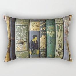 Decorated Spines I Rectangular Pillow