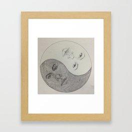 Twin-Yang Framed Art Print