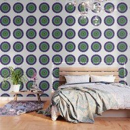 Green Light Mandala Art by Sharon Cummings Wallpaper