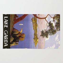 Vintage poster - Lake Garda Rug