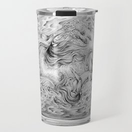 Two Lost Souls Swimming In A Fish Bowl Travel Mug