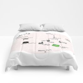 Great cities illustrated: Dublin Comforters
