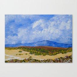 Plains of Tanzania Canvas Print