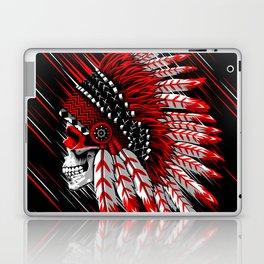 Indian chief skull Laptop & iPad Skin