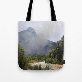 Smoke and Rust Tote Bag