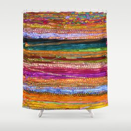 Indian Colors Shower Curtain