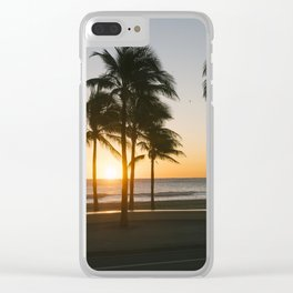 Fort Lauderdale at sunrise Clear iPhone Case